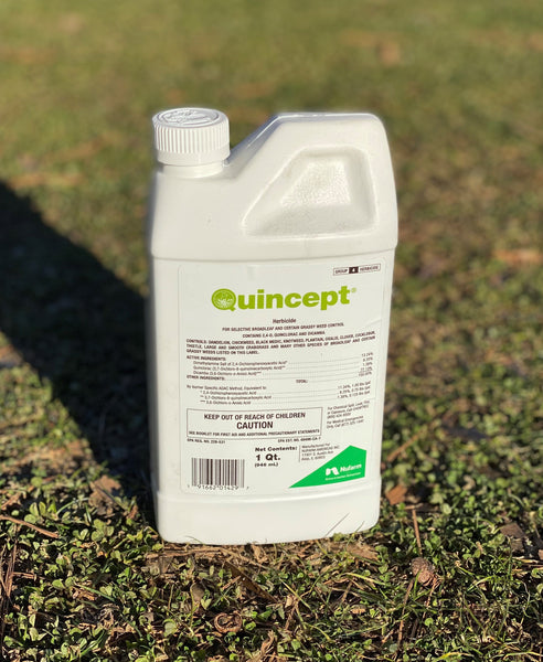 Quincept Herbicide<br>Grassy Weed Control