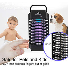 Load image into Gallery viewer, Bug Zapper 18W Outdoor&Indoor-Electric 4200V Mosquito Zapper/Killer Killing Insects Such as Gnats , Fly , Moth , Wasp , Beetle & Other Pests