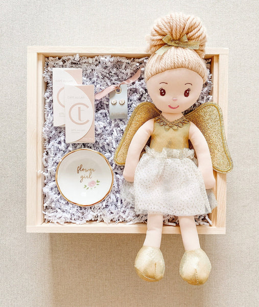 Adorable Flower Girl Proposal Box Will You Be My Flower Girl