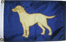 Load image into Gallery viewer, Yellow Lab Flag (Various Sizes/Colors)