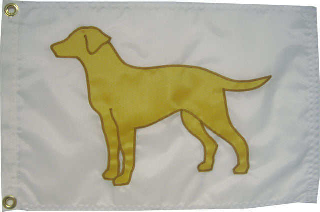 Yellow Lab Flag (Various Sizes/Colors)