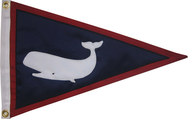 Sperm Whale Pennant with Border