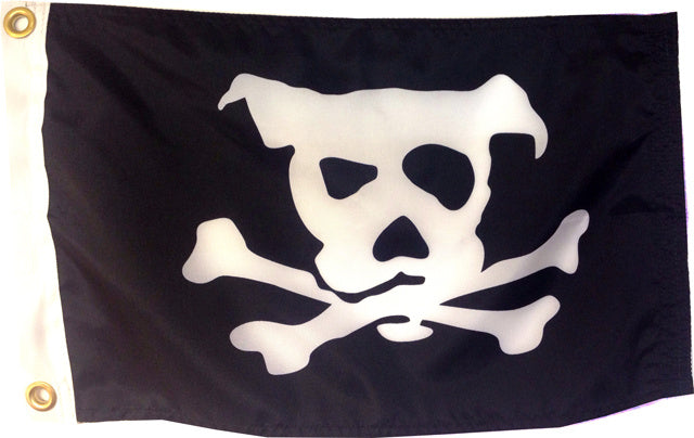 Printed Pirate Dog