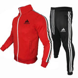 New Brand Men Tracksuit 2 Pieces Men's Jacket Casual Zipper Jackets Sportswear+Pants Sweatshirt Sports Suit Men Sets Clothing