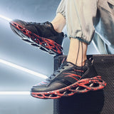Breathable Men Sneakers Fitness Lace-up Men Casual Shoes Trend Damping Jogging Shoes Comfortable Non-slip Men Fashion Shoes 2020