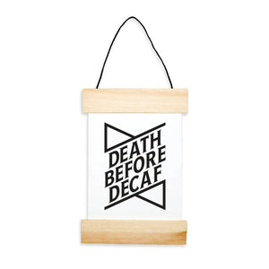 Death Before Decaf Banner