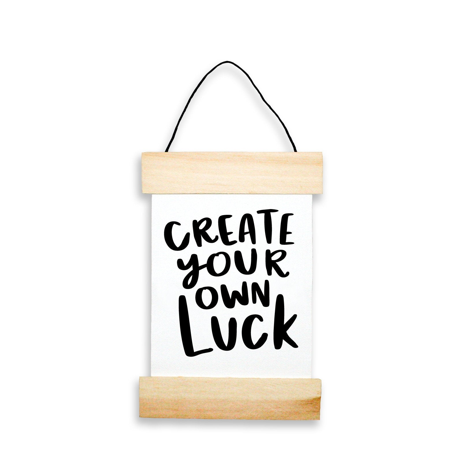 Create Your Own Luck Banner