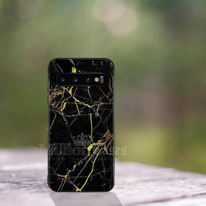 Galaxy S10 Plus Classic Nature Elemental Textured Marble Case