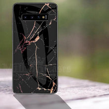 Load image into Gallery viewer, Galaxy S10 Plus Classic Nature Elemental Textured Marble Case