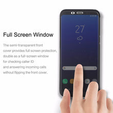 Load image into Gallery viewer, Galaxy S8 Rock Dr.v Full Window View Flip Case