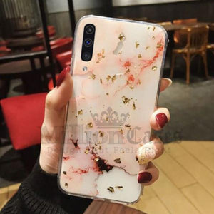 Galaxy A50 Premium Snow White Soft Silicone Back Case