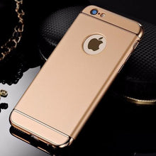 Load image into Gallery viewer, iPhone 6/6S Luxury 3 in 1 Electroplating Back Case