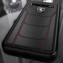 Load image into Gallery viewer, Ferrari ® Galaxy S10 Plus Genuine Leather Crafted Limited Edition Case