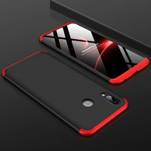 Load image into Gallery viewer, Redmi Note 7 and 7S Ultimate 360 Degree Protection Case + Tempered Glass + Earphone