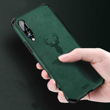 Load image into Gallery viewer, Galaxy A50S Shockproof Deer Leather Texture Case