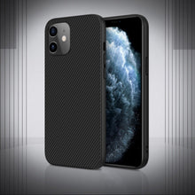 Load image into Gallery viewer, iPhone 12 Synthetic Carbon Fiber Case