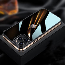 Load image into Gallery viewer, iPhone 12 Luxury Square Metal Frame case