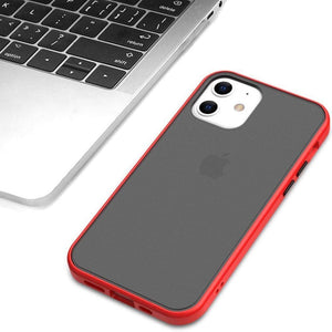 iPhone 12 Luxury Shockproof Matte Finish Case
