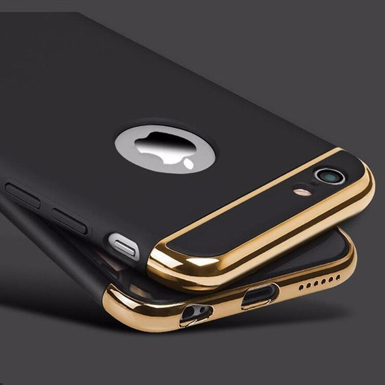 iPhone 6/6S Luxury 3 in 1 Electroplating Back Case