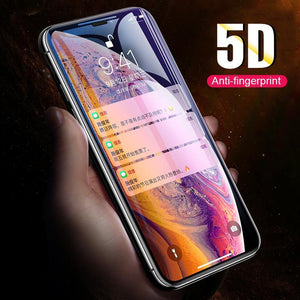 iPhone XS Max 5D Tempered Glass Screen Protector