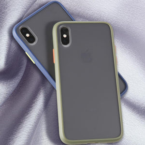 iPhone X Luxury Shockproof Matte Finish Case
