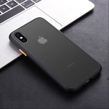 Load image into Gallery viewer, iPhone X Luxury Shockproof Matte Finish Case