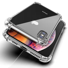 Load image into Gallery viewer, MK ® iPhone X King Kong Anti Shock TPU Transparent Case