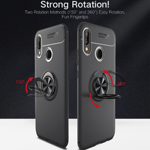 Load image into Gallery viewer, Oppo Realme 3 Pro Metallic Finger Ring Holder Matte Case