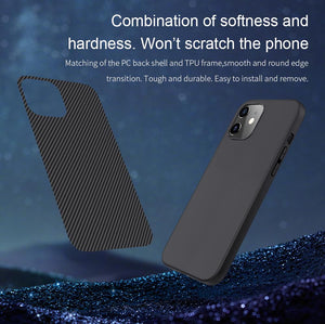 iPhone 12 Synthetic Carbon Fiber Case