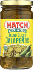 HATCH: Organic Nacho Sliced Jalapenos, 12 oz