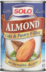 SOLO: Filling Almond, 12.5 oz