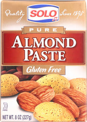 SOLO: Paste Almond, 8 oz
