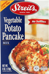 STREITS: Vegetable Potato Pancake Mix, 6 oz