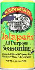 KONRIKO: Jalapeno All Purpose Seasoning, 3.25 oz