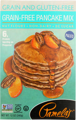 PAMELAS: Mix Pancake Grain Free, 12 oz
