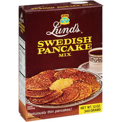 LUNDS: Mix Pancake Swedish, 12 oz