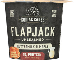 KODIAK: Unleashed Buttermilk & Maple Cup, 2.08 oz