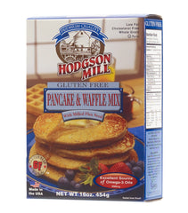 HODGSON MILL: Gluten Free Pancake & Waffle Mix with Flax Seed, 16 oz