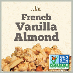 GOLDEN TEMPLE: Natural French Vanilla Almond Granola, 25 Lb