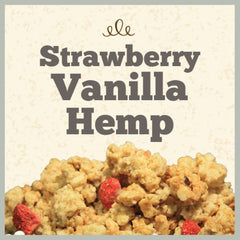 GOLDEN TEMPLE: Natural Strawberry Vanilla Hemp Granola, 25 lb