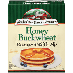 MAPLE GROVE: Mix Pancake Buckwheat Honey, 24 oz