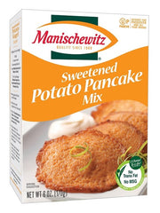 MANISCHEWITZ: Mix Pancake Sweetened Potato, 6 oz