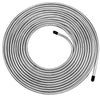 25 Ft. of 1/4 Brake Line Tubing Kit - Muhize Flexible Zinc-Coated Steel 1/4
