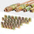 Muhize 32 PCS Brass Brake Line Fitting Kit for 3/16