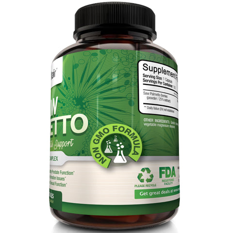 Saw Palmetto pills are the best health supplements online for the prostate