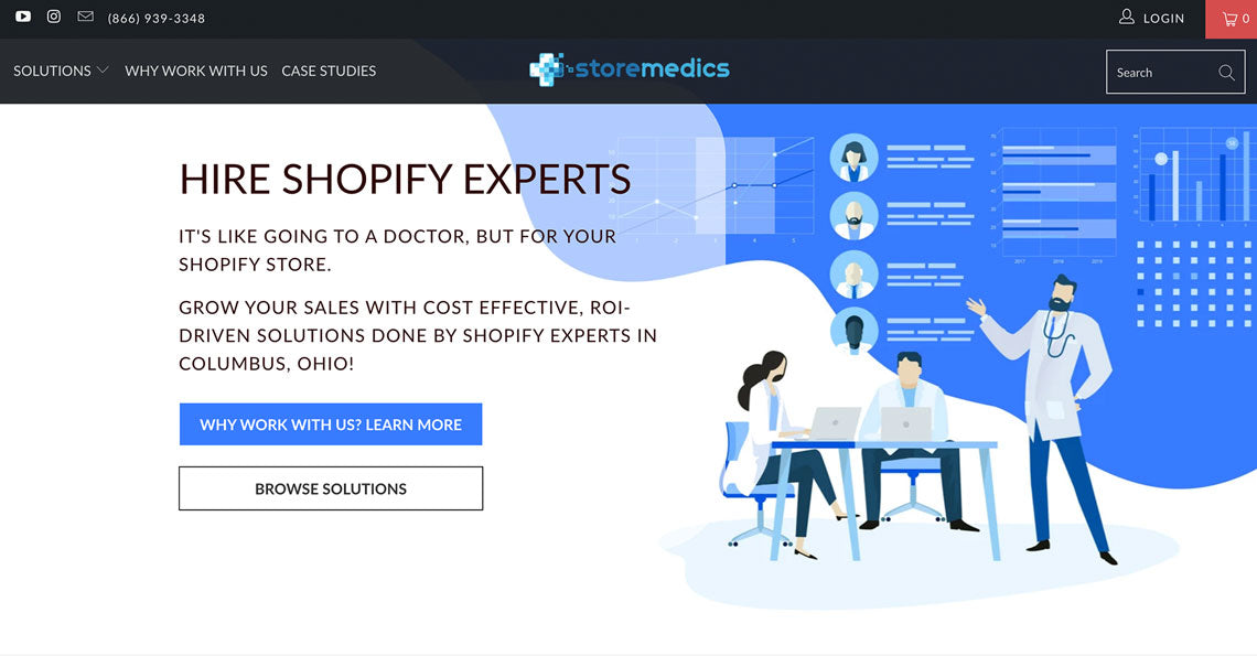 Store Medics Hire Shopify Experts