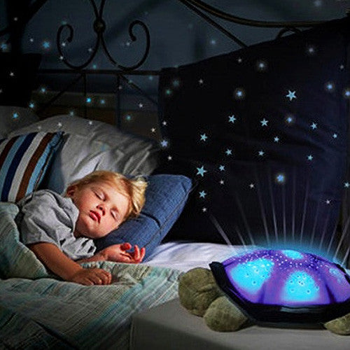 LED Turtle Night Light and Projector
