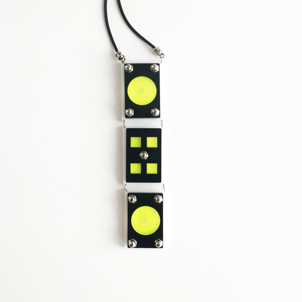 Dj set necklace