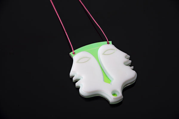 Janus Necklace.