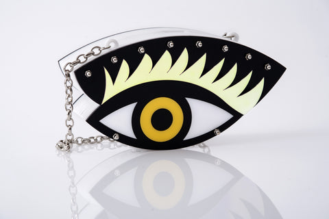 60% OFF!! Evil Eye clutch.